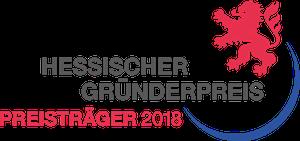 Logo Preisträger Hessischer Gründerpreis