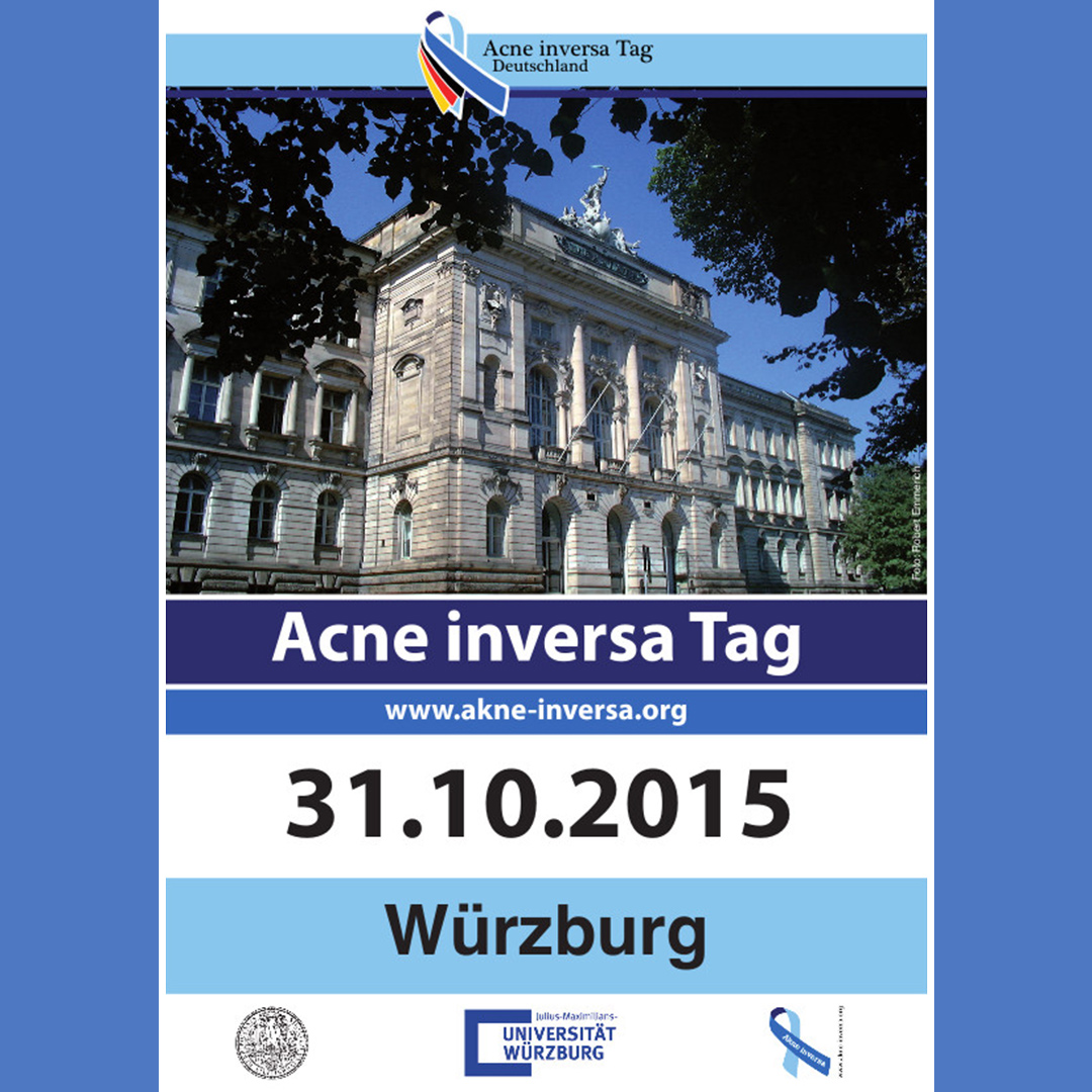 2. Acne inversa Tag in Würzburg (31.10.2015)