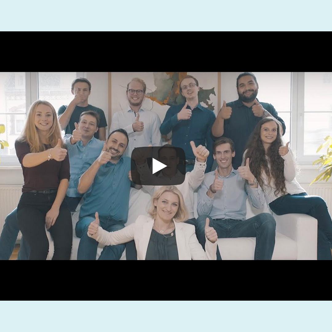 LENICURA Gruppenbild des Videos vom Hessischen Gründerpreis
