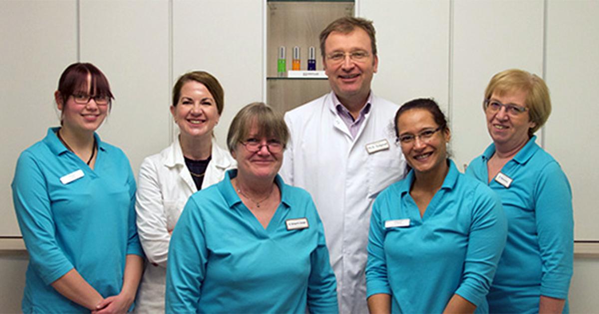 LAight-Standortbild Hautarzt Dr. Gutgesell und Team in Norderstedt