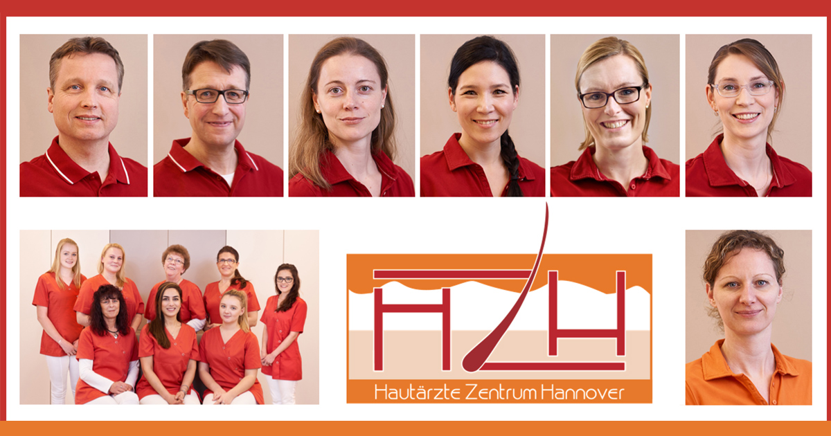 LAight-Standortbild Hautärzte Zentrum Hannover Ärzteteam