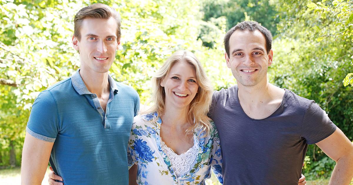 LENICURA Gründerteam Arend Poppner, Dr. Katharina Reinhard, Dr. Andreas Hafner