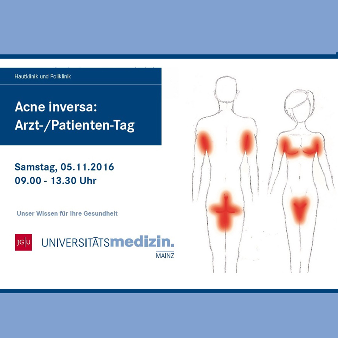 Acne inversa Arzt-/Patienten-Tag in Mainz (5.11.2016)