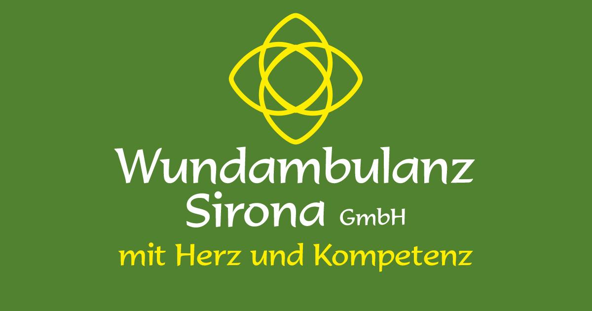 Logo der Wundambulanz Sirona in Glauchau
