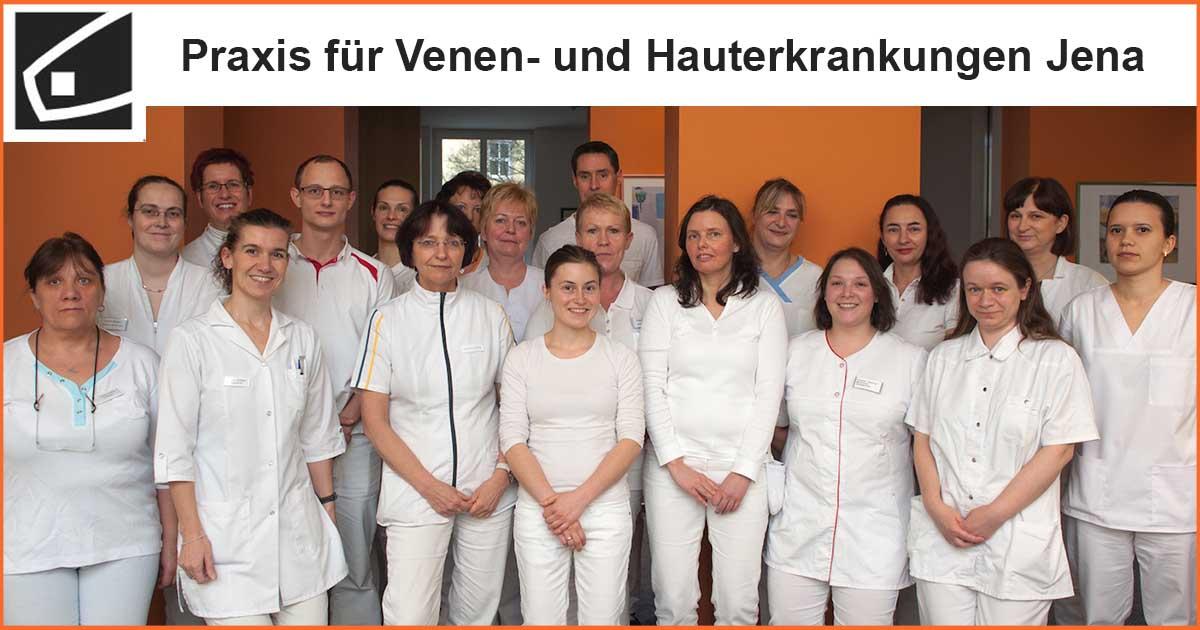 Team der Haut- und Venenpraxis Jena