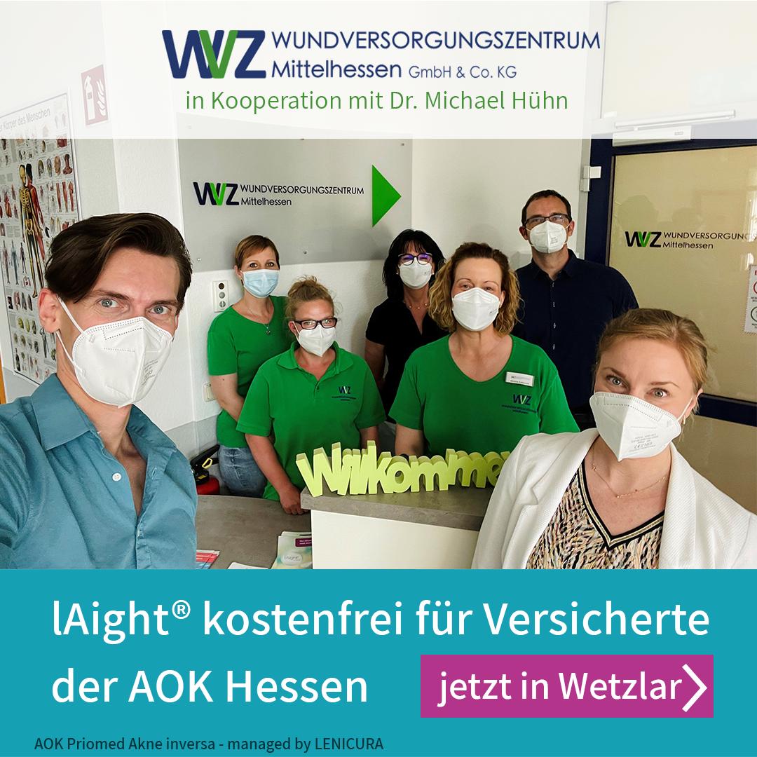 Standort Wetzlar an AOK Hessen -Selektivvertrag angeschlossen