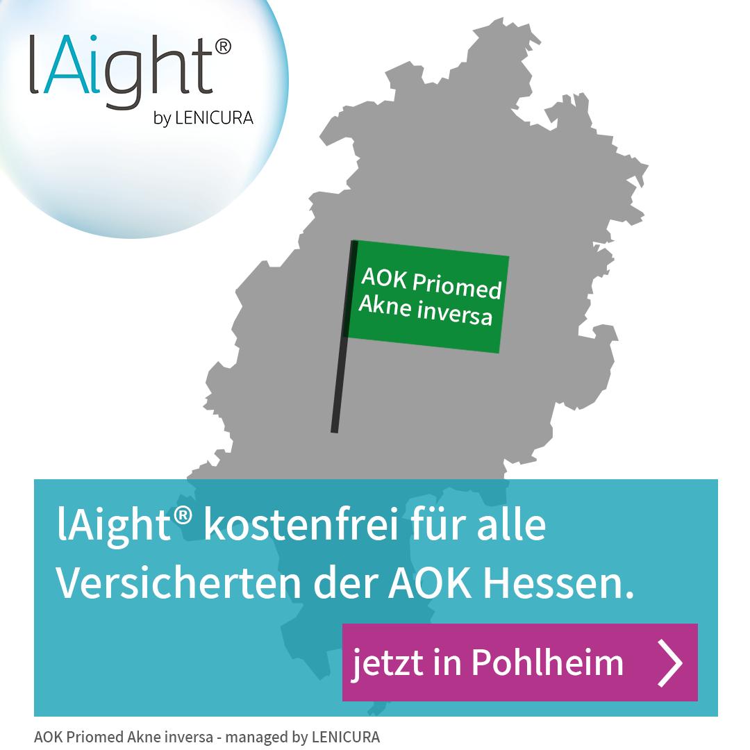 Standort Pohlheim an AOK Hessen-Selektivvertrag angeschlossen