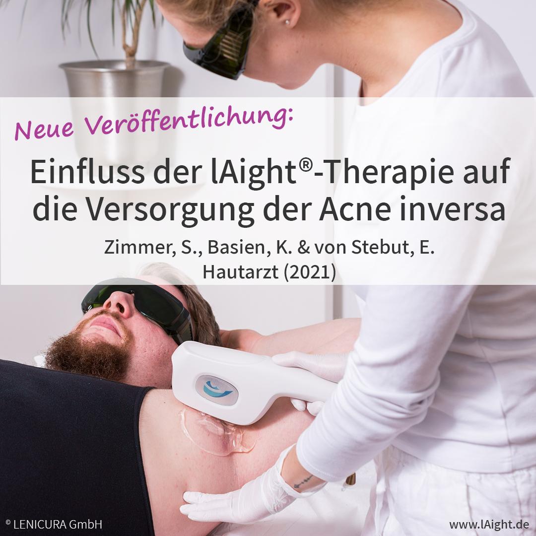 Veröffentlichung zum Einfluss der lAight®-Therapie auf die Versorgung der Acne inversa